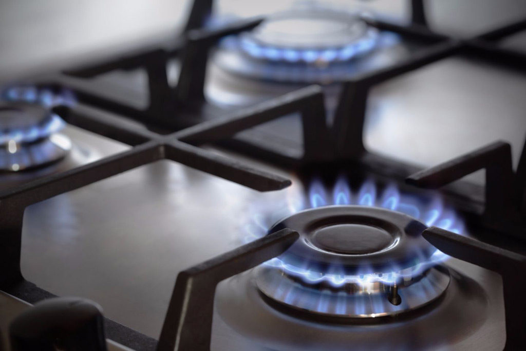 gas stove causes indoor air pollution