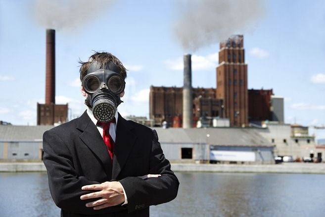 outdoor air pollution mask
