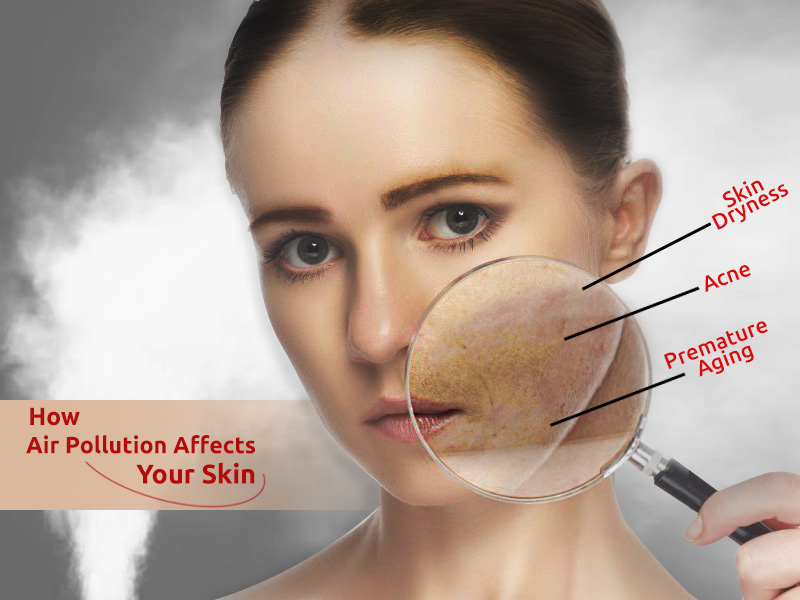 Harmful Effects of Air Pollution And Easy Ways to Protect Your Skin