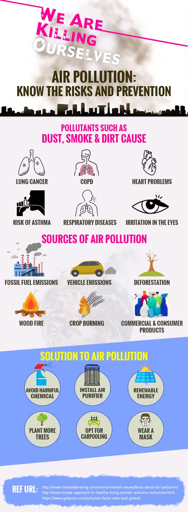 Air Pollution - Know the Risks & Prevention