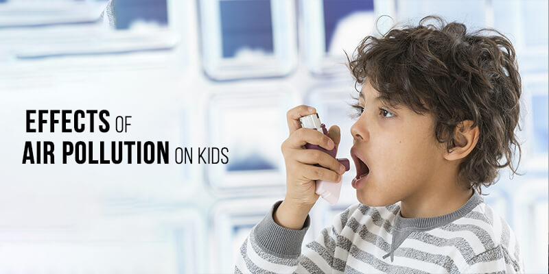 Effects of air pollution on kids