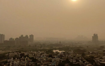 Ground Level ozone pollution in Delhi